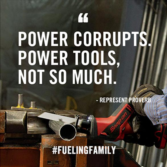 Snap-On Tools Facebook Proverbs